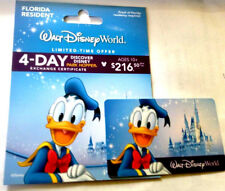 Disney world gift card with holder (----0----balance) for collecting only !