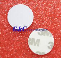 5PCS 13.56MHZ 1K S50 NFC Tag PVC Waterproof Adhesive Label Smart RFI M117