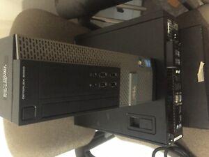 DELL OPTIPLEX 9020 SFF I5-4590, 4GB RAM, WIN 7 PRO COA, NO HARD DRIVE