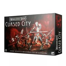 WARHAMMER QUEST: CURSED CITY Core Game w/60 Miniatures NIB SEALED FAST FREE SHIP
