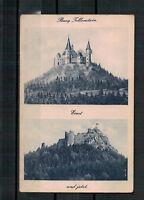 Ansichtskarte - Burg Tollenstein - Einst und jetzt. Sudetenland