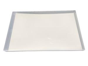 """pina zangaro bex 11x17"""" landscape screwpost binder, white"""