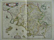 MAPPA TERRITORIO SIENA 1640 CETONA MONTEPULCIANO CHIUSI TORRITA SINALUNGA