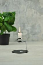 """Сandlestick Holder Stand """"Amort"""" for candles handmade metal steel wire"""