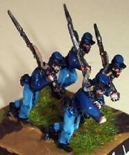SGTS MESS US1 1/72 Die-Cast WWII US Union Soldiers Charging Rt Shoulder Shift-4