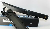 Cold Steel Recon Tanto Fixed Blade Knife SK-5 Steel Plain Edge w/ Sheath 49LRT