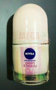 Nivea Extra Pearl + Beauty Roll On 12 Ml X 1 Bottle Deodorant 48 hrs Cell Repair