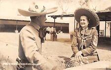 MEXICO TIPICO CONJUNTO CHARRO~REAL PHOTO POSTCARD 1940s