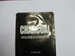 LAPCOS Charcoal Exfoliating & Cleansing Pad Korean Beauty NEW