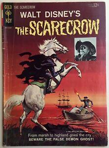 Walt Disney THE SCARECROW of Romney Marsh comic book #2  Vintage GOLD KEY 1965