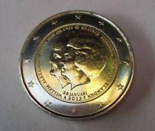 Piéce 2 euro commémorative PAYS-BAS 2013. WILLEM ALEXANDER BEATRIX. Superbe !!