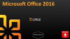 Microsoft Office 2016 Home and Student / Business, Professional Plus Vollversion