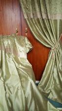 Dunelm Faux Silk Curtains