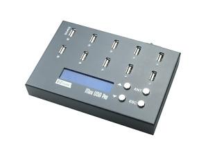EZ Dupe 1:9 Portable USB Duplicator 2GB/Min - Flash Drive Copy, Eraser/Sanitizer