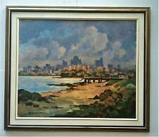 """R. Coventry - 20th. C. Attributed to R. Mc. Coventry - O/B - 24"""" x 20"""".  Signed"""