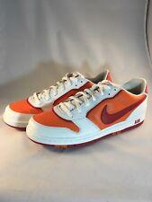 Nike Air Prestige 313324-163 Men's Orange / White / Red Shoes Sneakers Size 13