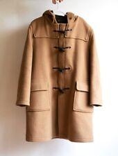 GLOVERALL Wool Duffle Duffel Coat Raincoat XL UK 18 Euro 44 Tan Womens
