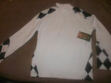 Youth S Flow Society Lacrosse Long Sleeve Compression Shirt Grip Shoulders (B44)