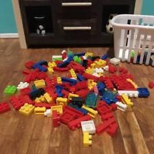 Miniature Dollhouse Lego Blocks Toys 1:12 scale 1:6 Playroom Kids Micro 30pcs
