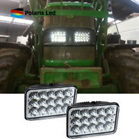 4''X6'' LED Fit John Deere Gator AMT 600 622 626 Headlight Hi/Lo Sealed Beam
