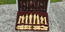 Studio Anne Carlton Gods of Greek Mythology chess pieces excellent   NO BOARD