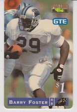 1995 Pro Line Phone Cards $1 #2 Barry Foster