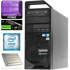 6-Core Lenovo Thinkstation S20 Xeon X5670 Ram 12GB SSD 128GB HDD250GB NVS300 W10