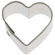"Miniature Heart Tin Cookie Cutter 1"" M21"