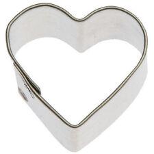 """Miniature Heart Tin Cookie Cutter 1"""" M21"""
