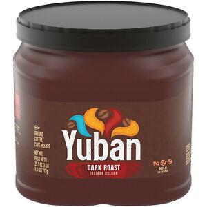 Yuban Dark Roast Bold Ground Coffee 25.3 Oz Canister