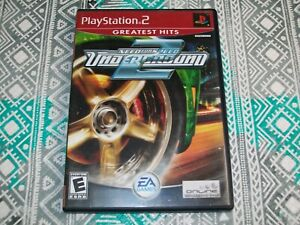 CASE/MANUAL ONLY - Need For Speed Underground 2 (PlayStation 2) PS2 Original NFS