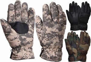 Thermoblock Tactical Insulated Hunting Thick Military Winter Gloves
