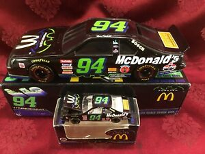 BILL ELLIOTT 1995 94 McDonalds Thunderbat Ford Thunderbird 1/24 BW Bank 1/64 SET