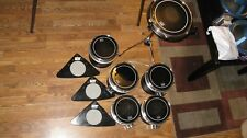 Set of Dave Clark electric Hum drum excellent shape black Remo ebony series head