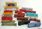 20 HO Model Train Cars - Reefers Box Flat Caboose Tanker