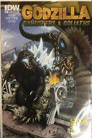 GODZILLA : GANGSTERS AND GOLIATHS #1 IDW 2011 San Diego Comic Con International