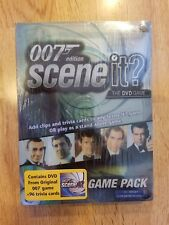 Scene It? James Bond 007 Edition DVD expansion Game Pack sealed