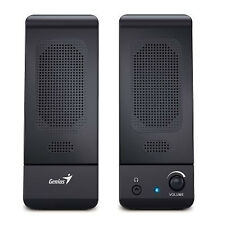 Genius SPU120 Multimedia Stereo Speakers System 2.0 - Black