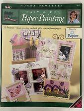 Plaid Folkflrt un Brochazo Fácil Y Divertido Papel Pintura Libro Por Donna