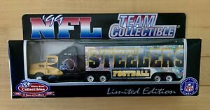 1999 Pittsburgh Steelers 1/80 NFL Transporter Truck Serially Numbered by Fleer