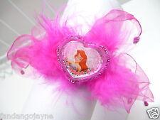 Disney  Hair ponio  Hot pink ribbon