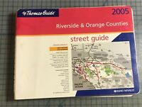 Thomas Guide Riverside & Orange Counties 2005 BOOK