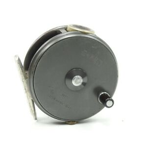 """Hardy Perfect 3 1/8"""" Fly Fishing Reel. Made in England."""