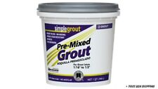 Custom Building Products SimpleGrout Indoor White Grout 1 qt.Pmg381Qt New/Op.Box