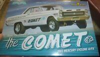 Moebius Arnie Farmer Beswick 1965 Comet Cyclone 1/25 Model Car Mountain King NOW