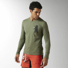 Abbiglimento sportivo da uomo Reebok Verde taglia L