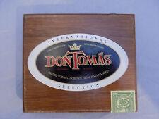 Don Tomas International Selection No.3 Wooden Cigar Box