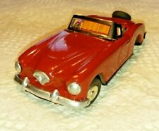 """Vintage Tin Convertible Car, Marked Japan with motor 6 1/4"""""""