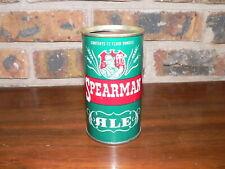 Vintage Spearman Ale Straight Steel Pull Tab Beer Can~Century Brewery Corp.