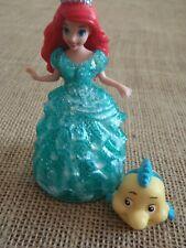 Polly Pocket Disney Princess MagiClip Glitter Glider Ariel Little Mermaid  F14